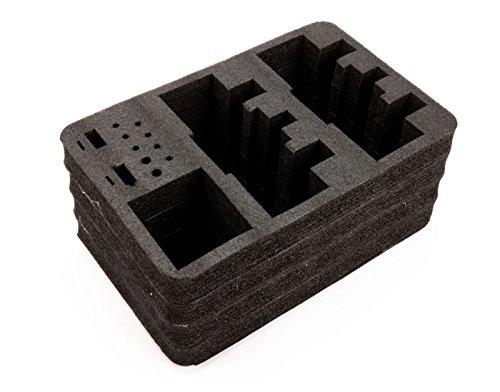 Spektrum Stand Up TX case optional dual TX foam ()