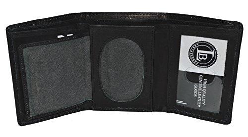 Badge Oval (Sheriff Rounded Oval Badge Holder - Style 2517ta (Black))