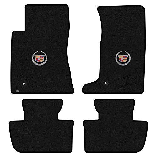 - Lloyd Mats LogoMat Custom Floor Mats - Cadillac CTS AWD/CTS-V Coupe 2011-2015 4Pc Front & Back Set Carpeted Custom Fit Mats Charcoal (Dark Gray) (2 ITW Fasteners)