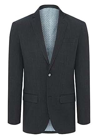 Tarocash Men's Scott Stretch Blazer Midnight S Polyester Blend Sizes Small - 5XL for Going Out Smart Occasionwear