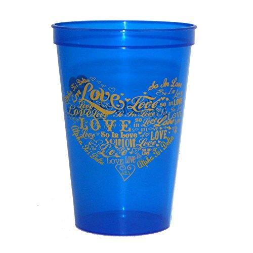 Alpha Xi Delta Giant Plastic Cup