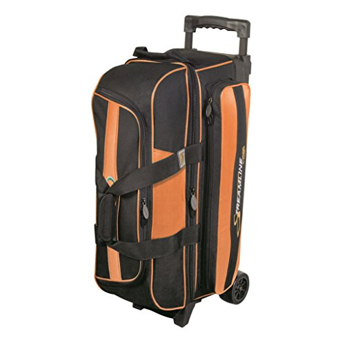 Streamline 3 Ball Roller Bowling Bag by Storm- Orange/Black ()