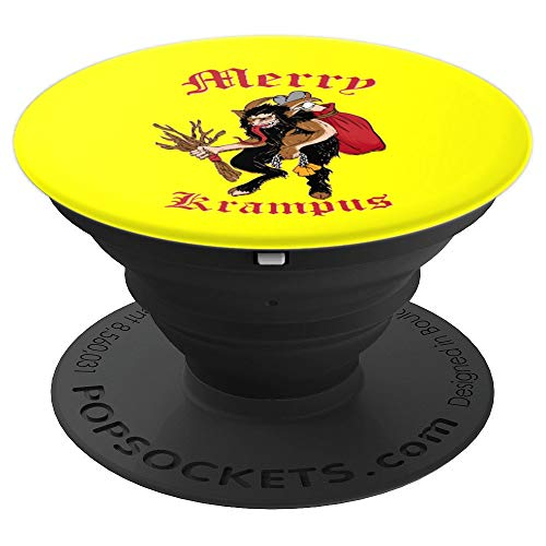 Merry Krampus Gruss Vom Krampus Phone Grip Holder - PopSockets Grip and Stand for Phones and Tablets -
