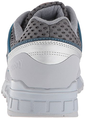 01 Grey Ht Uomo Grey Grid Sneaker Saucony blue Sd Blue 70388 TwYAIq