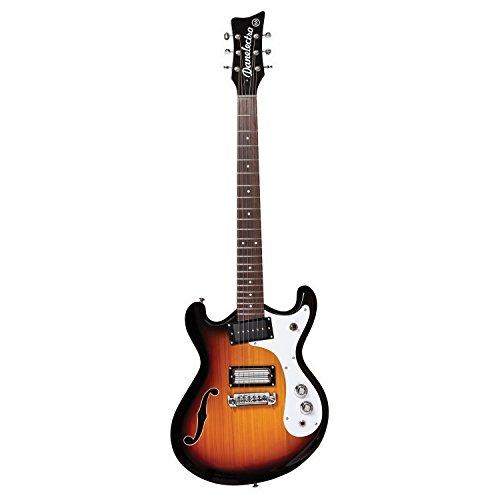 Danelectro '66 Classic Semi-Hollow Electric Guitar 3-Tone ()