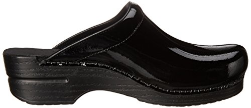 Dansko Women's Sonja Patent Leather Clog Black real for sale W7A9Kgy5
