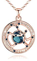 Pendant Made with Swarovski Crystal Horoscope Jewelry