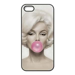 iPhone 5 5s Cell Phone Case Black Marilyn Monroe JSK804891