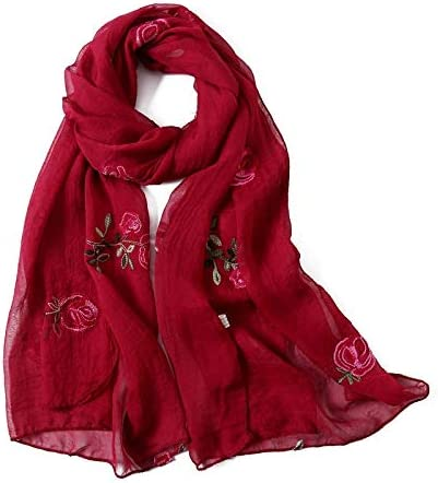 721a0ee3f HITSAN INCORPORATION hot women scarf spring summer silk scarves shawls and wraps  lady pashmina beach stoles hijab foulard: Amazon.in: Clothing & Accessories