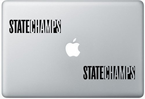 State Champs Band Logo ArcDecals78602699 Set Of Two (2x) , Decal , Sticker , Laptop , Ipad , Car , Truck -