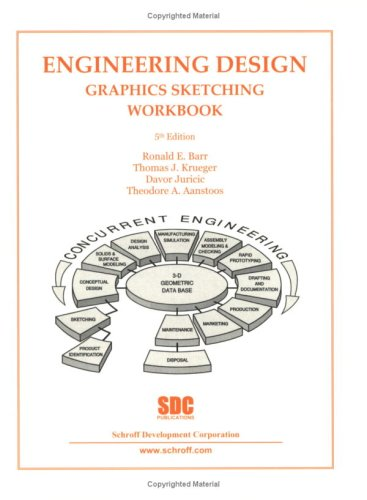 Engineering Design Graphics Sketching Workbook (5th Edition)