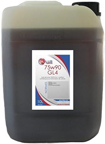 DLLUB - Aceite para caja de cambios, mineral, 75W90 GL4, 10 L ...