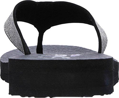 Meditation Unicorn Flop Skechers Flip Black Women's Dust x4qBBEwP