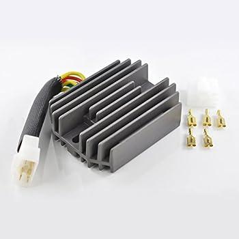voltage regulator rectifier for suzuki gsxr 600 750 1000 hayabusa vl 1500  intruder ltf 500 f quadrunner 1996-2007 oem repl # 32800-33e00 32800-33e10