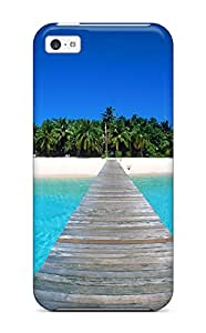 New Style For Iphone 5c Premium Tpu Case Cover Maldives Holidays Protective Case
