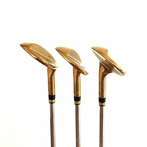 Japan Wazaki 14K Gold M PRO Forged Soft Iron USGA R A rules of Golf Club Wedge Set(pack of three) by wazaki (Image #5)