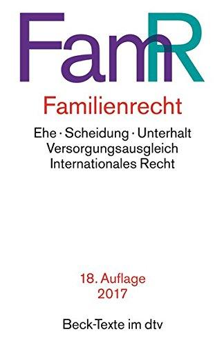 Familienrecht (dtv Beck Texte)
