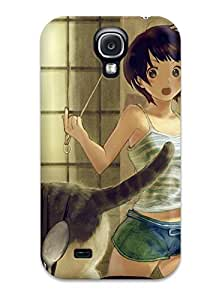 Hot New Ame Conronca Animal Black Cat Food Original Shortshorts Case Cover For Galaxy S4 With Perfect Design