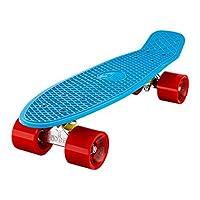 "Ridge 22"" Skateboard Mini Cruiser Complet Avec Gros Roues 70MM"