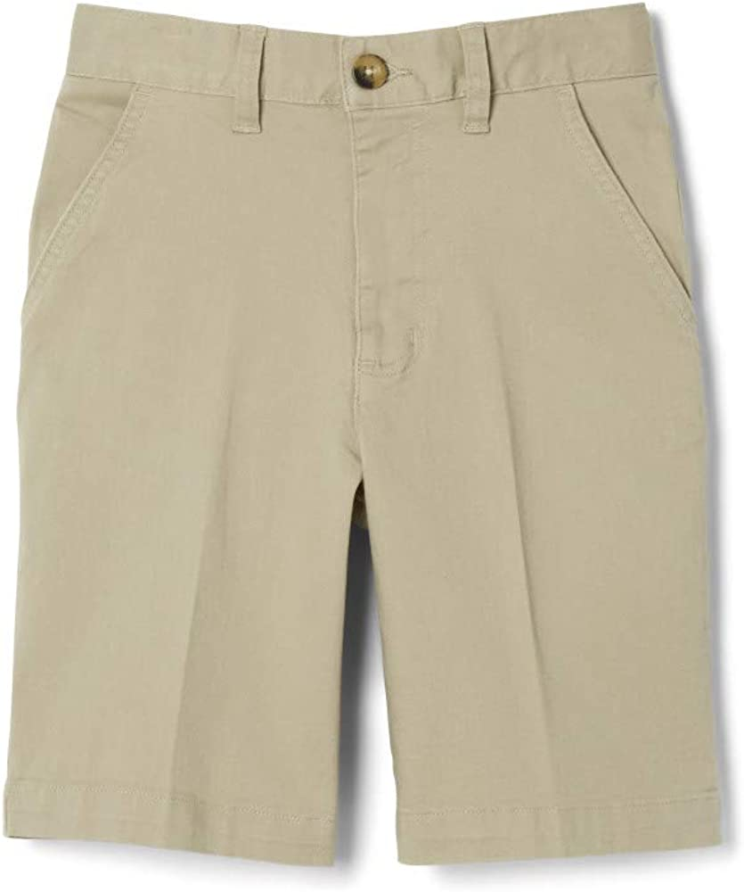 French Toast Mens Flat Front Stretch Short Shorts