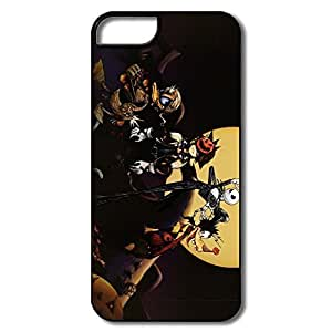 Nightmare Before Christmas Scratch Case Cover For IPhone 5/5s - Fashion Shell by icecream design