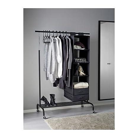 eLisa8 RIGGA - Ropa Rack, Negro: IKEA of Sweden: Amazon.es ...