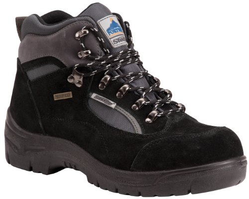 Größe Black Noir Allwetter Portwest Fw66bkr42 Wanderstiefel 42 S3 black Farbe Steelite CFxpwqP