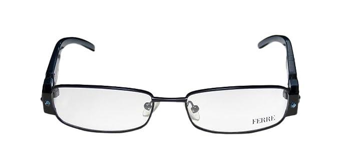 b1528781fbcb Amazon.com  Gianfranco Ferre 28903 For Ladies Women Designer Full-Rim Shape  Strass Elegant Italy Made Eyeglasses Eyewear (52-16-135
