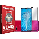 ZIVITE MOBIRUSH 9H Hardness Curved 5D Edge Full Glue Screen Coverage Tempered Glass Guard for Oppo F9 Pro (Black)