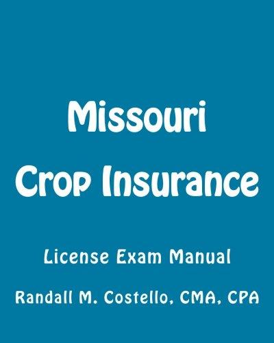 Download Missouri Crop Insurance: License Exam Manual Pdf