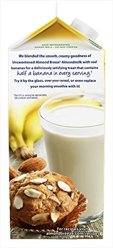 Almond Breeze Original Almondmilk Mezcla con Bananas Reales ...