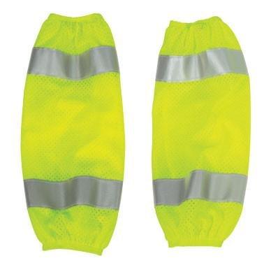 ML Kishigo 3930 Polyester Mesh High-Viz Gaiter, Lime
