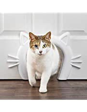 PetSafe Cat Door - Cat Corridor for Interior Doors - Adds Privacy, Hides Litter Box and Automatic Feeder or Cat Food - for Cats Up to 20 lb - Durable and Easy to Install - Made in USA