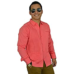 Camisa Guayabera Yucateca Casual Lino Presidencial Original_cfkkprsml16