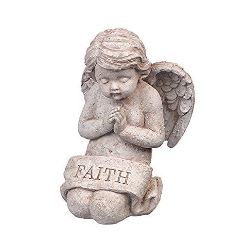 (Grasslands Road Faith Cherub Figurine )