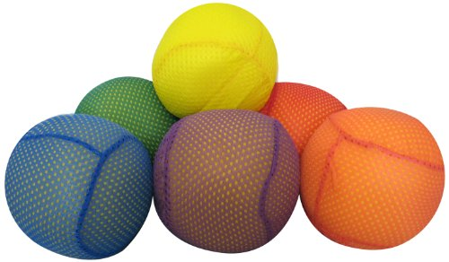 American Educational Products Mesh Covered Foam Balls, 4'', Set of 6 by American Educational Products