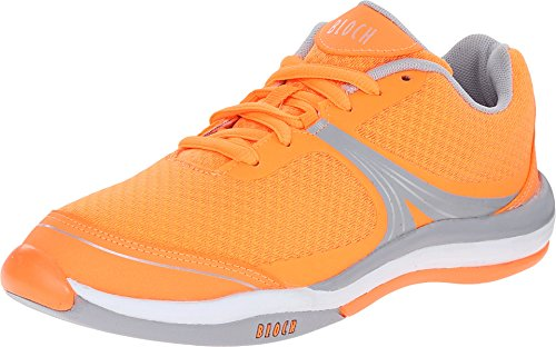 Bloch Women's Element Orange Athletic Shoe xzp4vT7qzw