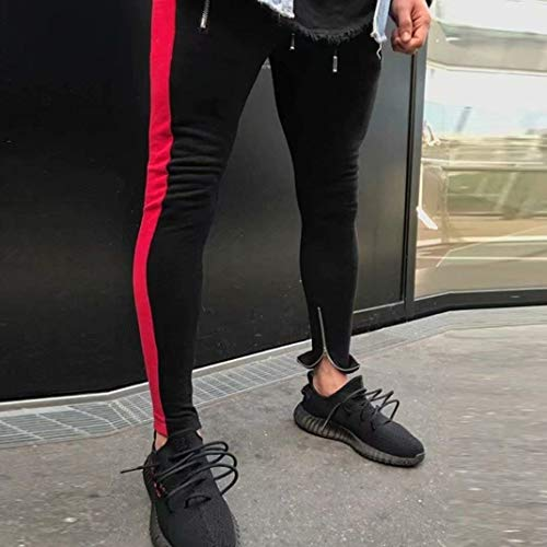 Fashion Hombres Sportwear Casuales Rot Cómodos Cómodo Cómodos Pantalones para Pantalones para Baggy Pantalones Skinny Lannister Correr Pantalones Deportivos Deportivos Joggers Pantalones XqpdX