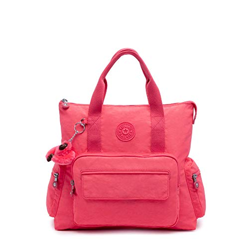 Kipling Alvy 2-In-1 Convertible Tote Bag Backpack Grapefruit Tonal