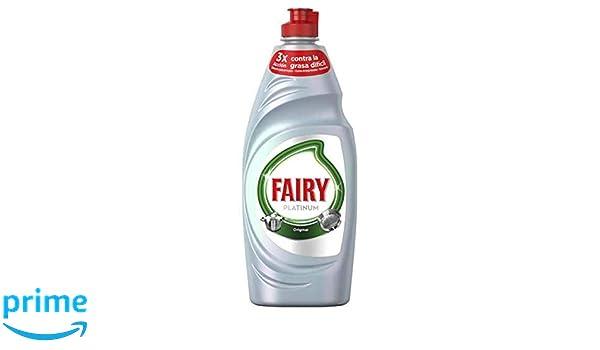 Fairy Platinum Original Líquido Lavavajillas - 500 ml: Amazon.es ...