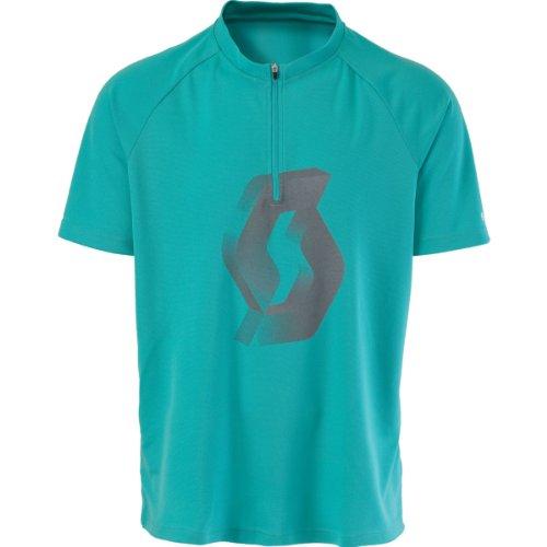 3301 Icon - SCOTT bikewear PATH ICON zip neck short sleeve cycling jersey 221582007700 (XL)