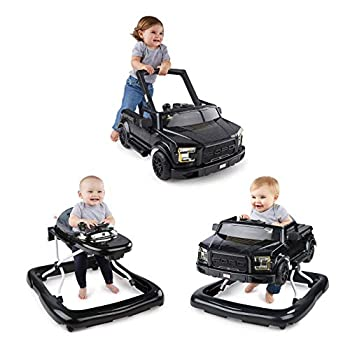 Image of Baby Bright Starts 3 Ways to Play Walker - Ford F-150 Raptor, Shadow Black, Ages 6 months +