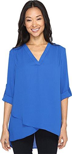 karen-kane-womens-deep-v-wrap-shirt-bright-blue-shirt