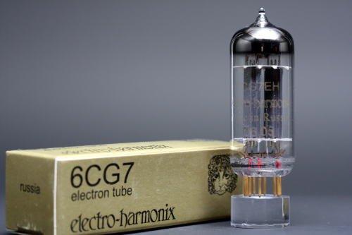 6CG7/6FQ7 EHゴールド 6本マッチ 低ゲイン 真空管PG11   B002U1W2LM