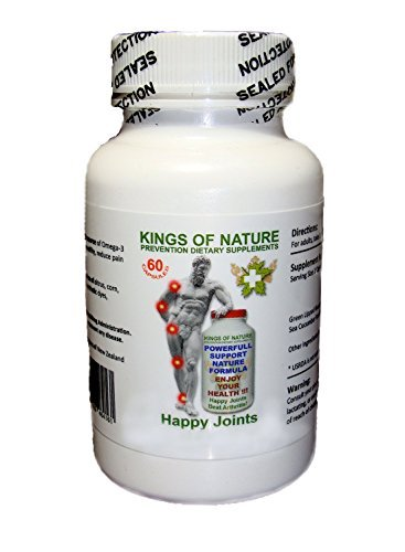 Glucosamine Chondroitin - BEST Anti-Inflammatory and Natural Pain Relief Pills. For Knees, Arms, Hands, and Hips. Made in USA, Pure Top Quality New Zealand Ingredients! SALE!