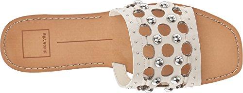 Slide Sandal Off Vita Women's Celita white Dolce Leather wxtgOx