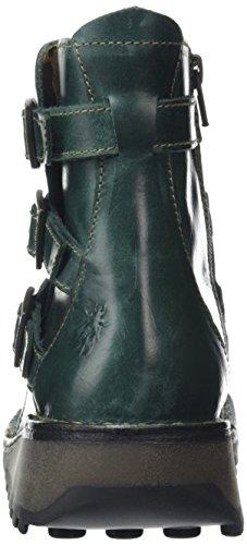 Myso Mujer 008 Botines London Petrol Verde Fly tBxq5wfg5