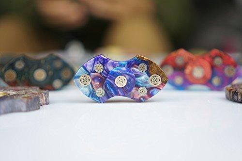 Sunnytech 1zappeln Spinner Spielzeug EDC Exquisite Hand Spinner DIY Puzzels für ADHD Angst Langeweile hs63