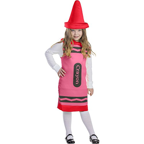 Dress Up America Red Crayon, Size Large -
