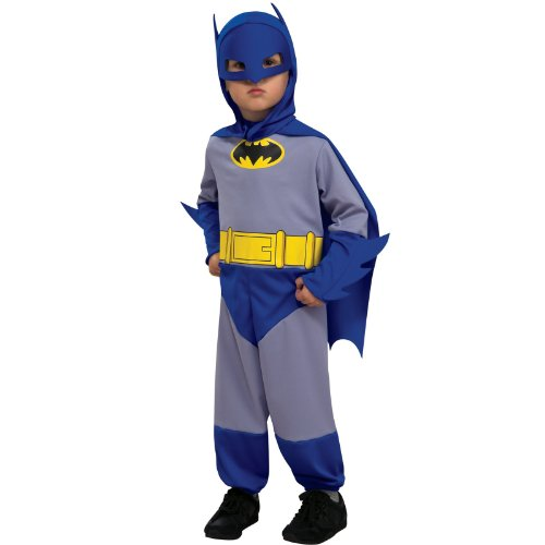 Brave Toddler Costume (Rubies Costumes 185299 Batman Brave & Bold Batman Infant-Toddler Costume)